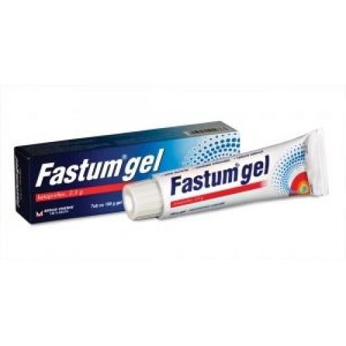 Fastum Gel Ketoprofen 2 5 50g Muscle Amp Joint Back Pain